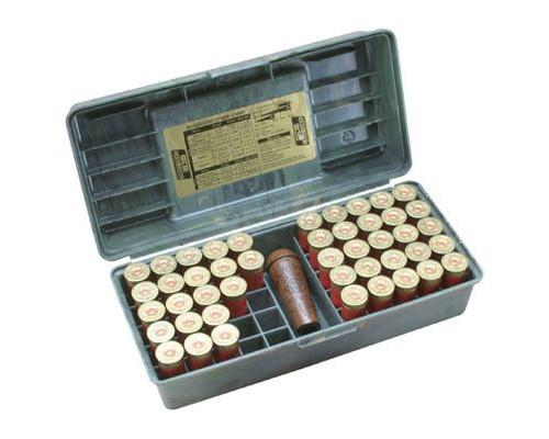 Кейс для 50 патронов 12 калибра с местом для манка