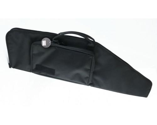 Кейс Vektor тактический из капрона черный с пенополиэтиленом, с карманом, 95х30 см