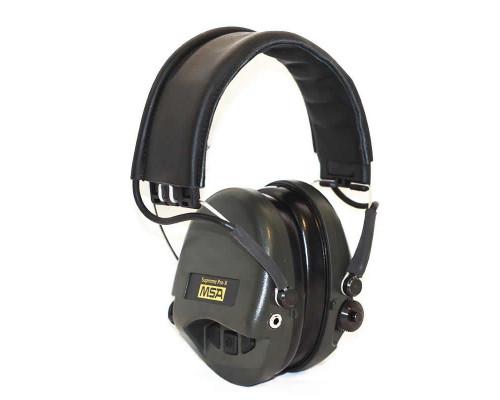 Активные наушники MSA Supreme PRO X, оголовье чёрное 75302-X-02