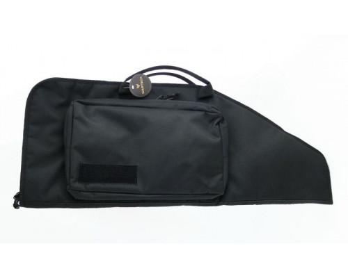 Кейс Vektor тактический из капрона черный с пенополиэтиленом, с карманом, 83х30 см