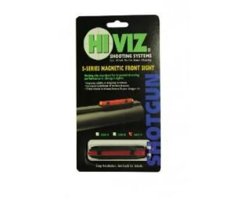 HiViz мушка S200-R красная сверхузкая 4,2 мм - 6,7 мм