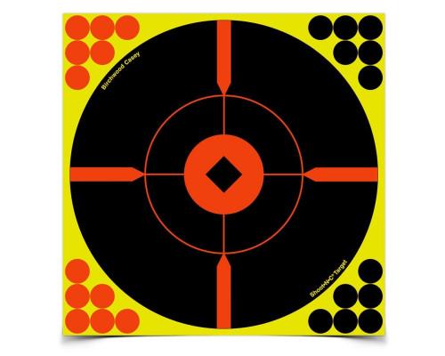 "Мишень бумажная Birchwood Shoot•N•C® Bull's-eye ""BMW"" 200мм"