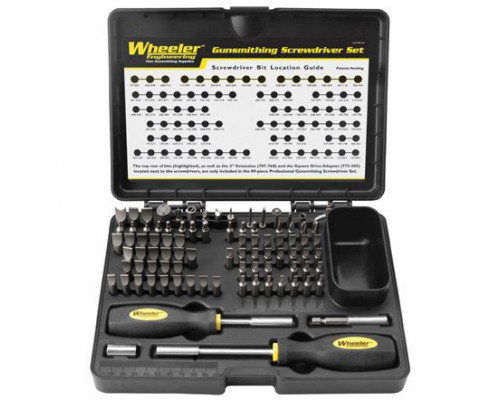 Набор инструментов Wheeler Engineering Precision Micro Screwdriver Set 58 предметов