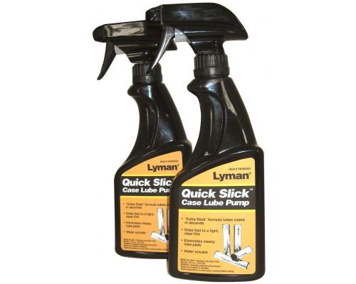 Смазка для гильз Lyman Quick Slick памп-спрей 470мл