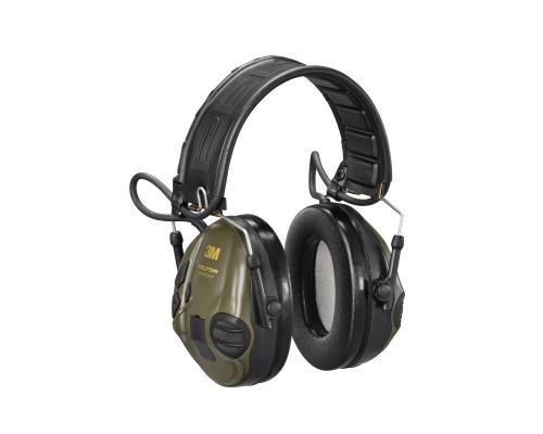 Наушники Активные 3М™Peltor™Sporttac Hunting,Snr 26Db, Аудиовход J22, В Комп. Оранжевая И Зелёная Сменные Чашки,318Г