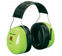 Наушники Противошумные 3М™Peltor™ Optime™ Ii Повышенной Видимости,Snr 31 Db,Нескладное Оголовье,Зелёные,230Г