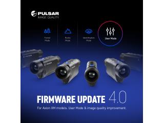 Новое ПО 4.0 для тепловизионных приборов серии ХМ